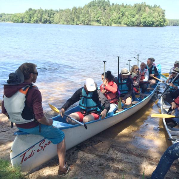 Séjours en famille - Canoe