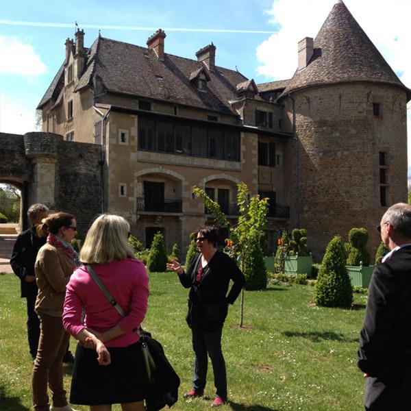 Séjours en familles - Visite Château