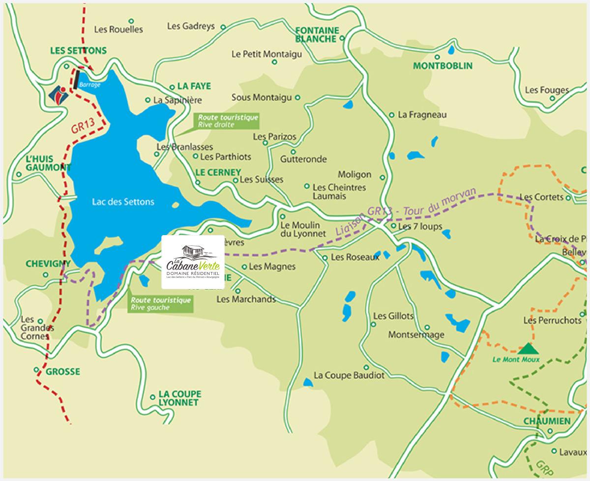 Map Accès - Une Situation idéale